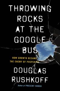 Throwing Rocks at the Google Bus La couverture du livre martien