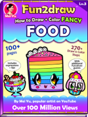 How to Draw + Color Fancy Food - Fun2draw Lv. 3