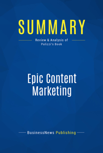 Summary: Epic Content Marketing Book Cover