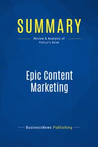Summary: Epic Content Marketing Copertina del libro