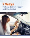 7 Ways To Keep Drivers Happy And Productive
