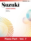 Suzuki Piano School - Volume 7 New International Edition