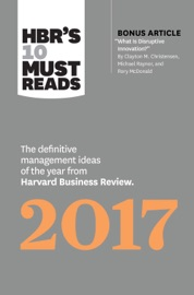 HBR's 10 Must Reads 2017 PDF Download