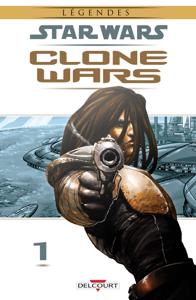 Star Wars - Clone Wars T01. NED La couverture du livre martien