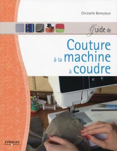 Guide de couture à la machine à coudre La couverture du livre martien