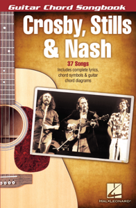 Crosby, Stills & Nash - Guitar Chord Songbook Copertina del libro