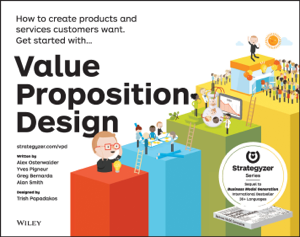 Value Proposition Design La couverture du livre martien