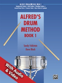 ALFREDS DRUM METHOD, BOOK 1 WITH AUDIO AND VIDEO