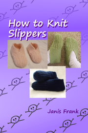How to Knit Slippers book