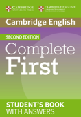 Complete First Second edition Student's Book with answers