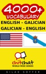 4000 English - Galician Galician - English Vocabulary
