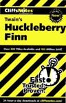 CliffsNotes On Twains The Adventures Of Huckleberry Finn