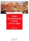 LItalie De La Renaissance  Lunit - Livre De Llve - Edition 2001