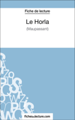 Le Horla de Maupassant (Fiche de lecture) Book Cover