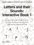 Letters and their Sounds - Interactive Book 1