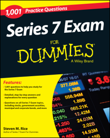 1,001 Series 7 Exam Practice Questions For Dummies book