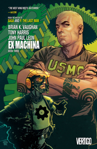 Ex Machina Book Three Copertina del libro