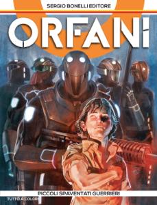 Orfani 1. Piccoli spaventati guerrieri Copertina del libro