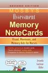 Mosbys Assessment Memory NoteCards