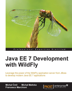 Java EE 7 Development with WildFly Boekomslag
