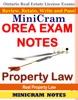 MiniCram OREA Exam Notes