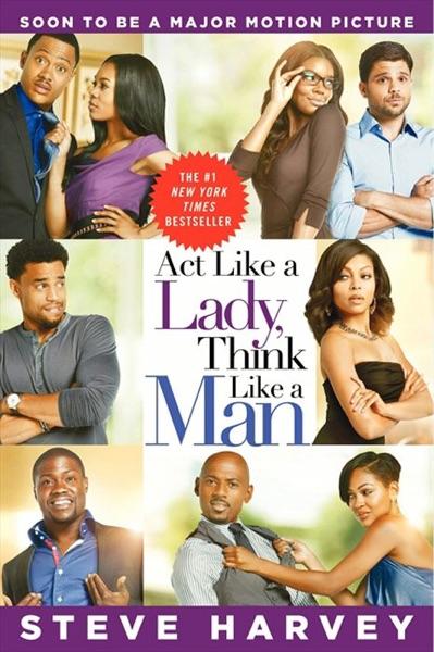 Act Like a Lady, Think Like a Man - Steve Harvey book cover