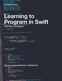 Learning to Program in Swift
