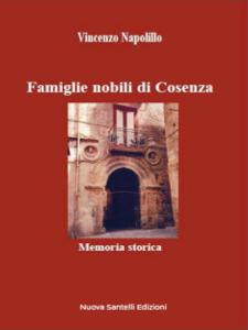 Famiglie nobili di Cosenza Libro Cover