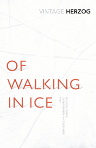 Of Walking In Ice Libro Cover