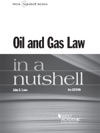 Oil And Gas Law In A Nutshell 6th