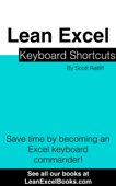 Lean Excel: Keyboard Shortcuts