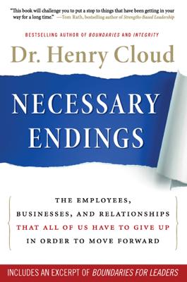 Necessary Endings - Henry Cloud book