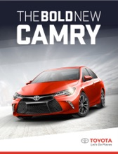 The Bold New 2015 Toyota Camry