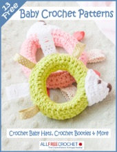 13 Free Baby Crochet Patterns: Crochet Baby Hats, Crochet Booties & More