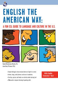 English the American Way: A Fun ESL Guide to Language and Culture in the U.S. Book Cover
