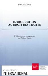Introduction Au Droit Des Trait S