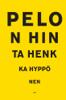 Henkka Hyppönen - Pelon hinta artwork