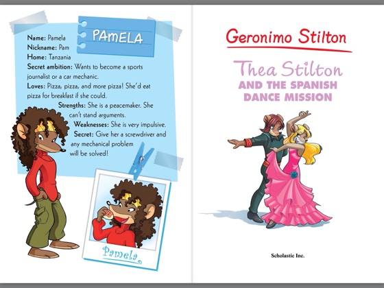 ‎Thea Stilton and the Spanish Dance Mission