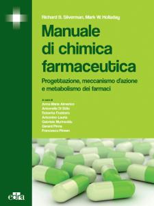 Manuale di chimica farmaceutica Copertina del libro