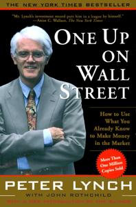 One Up On Wall Street Copertina del libro