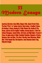 33 Modern Essays