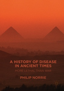 A History of Disease in Ancient Times Book Cover