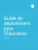 Apple Education - Guide de déploiement pour l'Éducation artwork