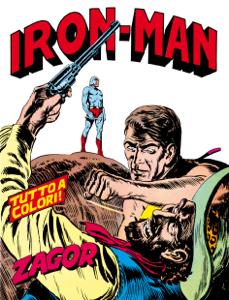 Zagor. Iron Man Copertina del libro