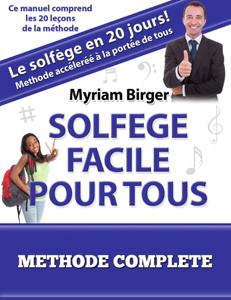 Solfège Facile Pour Tous ou Comment Apprendre Le Solfège en 20 Jours ! - Méthode complète (20 leçons) La couverture du livre martien