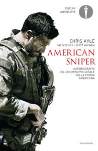American sniper Copertina del libro