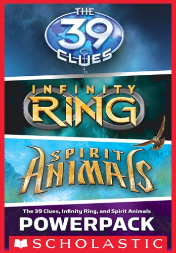 Rick Riordan, James Dashner & Brandon Mull - The 39 Clues, Infinity Ring, and Spirit Animals Powerpack