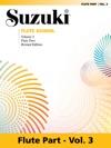 Suzuki Flute School - Volume 3 Revised