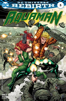 Aquaman (2016-) #5 - Dan Abnett & Phil Briones book