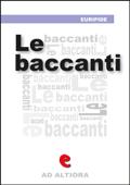 Le Baccanti Book Cover